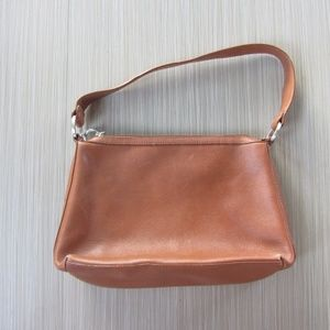 Cole Haan Brown Leather Shoulder Purse Bag